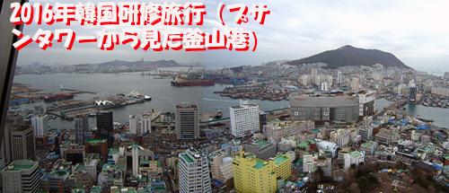 釜山研修旅行